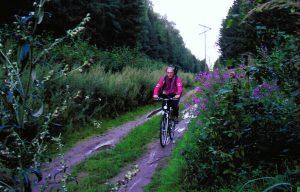 Б.А. Гришанин на велосипедной прогулке по Подмосковью