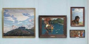Картины Н.К.Рериха в ОХМ