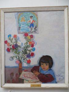 Т. Яблонская. Гаяне. 1964