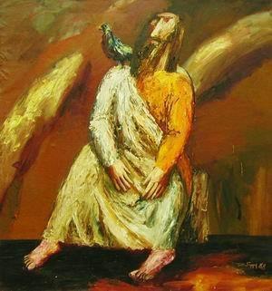 А. Ройтбурд. Сидящий пророк