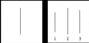две большие белые карточки