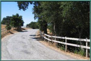 Въезд на Webb Ranch, или дорога в прошлое