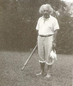 Альберт Эйнштейн, 1934 г.