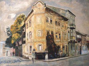 Л. Межберг. Старинный дом