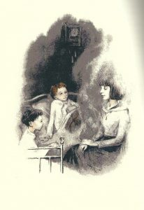 Рис. 4. «Воспоминания», Детство в старой Москве