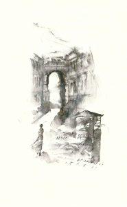 Рис. 13. Иллюстрация к сборнику Ахматовой