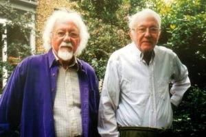 Жорес Медведев ( слева) и Рой Медведев (справа).