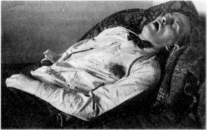 Фото из Уголовного дела о смерти Владимира Маяковского
