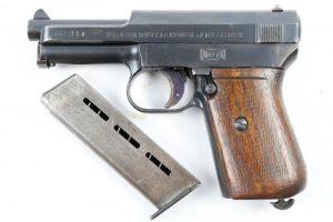 Пистолет «маузер», модель 1914 г. с обоймой