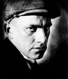 Владимир Маяковский, фото А. Штеренберга, 1920