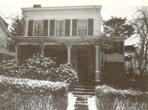 Дом Эйнштейна на Мерсер стрит 112, который он купил в 1935 году