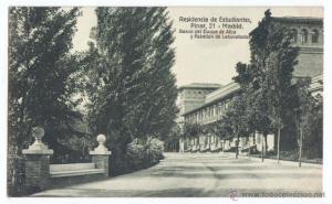 3. Студенческая Резиденция в 20-е гг.20 века. (Residencia de Estudiantes, Calle del Pinar, 21-22)