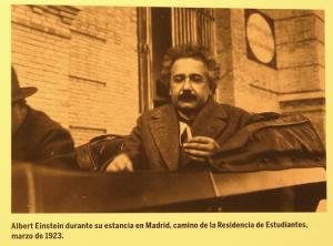 7. Альберт Эйнштейн выступил с лекцией в Студенческой Резиденции в 1923 г