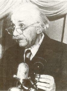 Выступление Альберта Эйнштейнапо радио 12 февраля 1950 г.