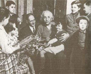 Альберт Эйнштейнс еврейскими детьми, 1950-е годы