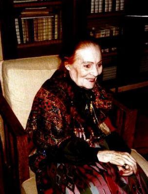 Лилия Брик в пожилом возрасте