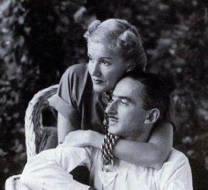 Александр Либерман и Татьяна Яковлева, 1943 г.