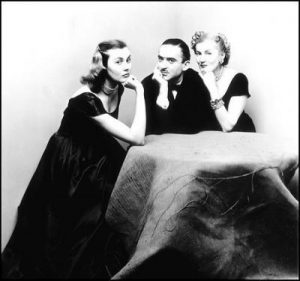 А. Либерман с женой Татьяной и ее дочерью Френсин