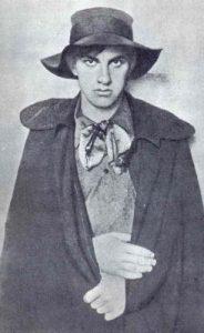 В.В. Маяковский в молодости