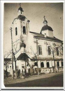 Рис. 4.Церковь Воздвижения Честного Креста Господня