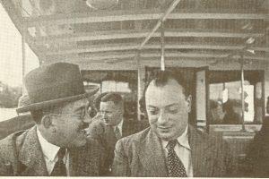 Вольфганг Паули(справа) и Отто Штерн, весна 1926 г.