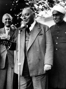 Выступление Вольфганга Паули на встрече нобелевских лауреатов в Линдау, июнь 1956 г.