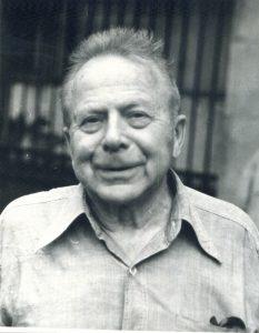 Даниил Владимирович Лебедев, 1985 (фото автора, публикуется впервые)