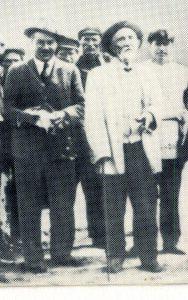 Н.И. Вавилов в гостях у И. В. Мичурина в Козлове. 15 июля 1932 года