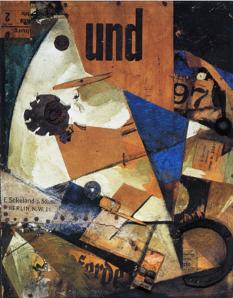 K. Schwitters,Das Undbild, 1919,Staatsgalerie Stuttgart