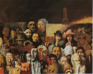 С. Бак. Семья. 1974. Pucker Gallery, Boston, MA