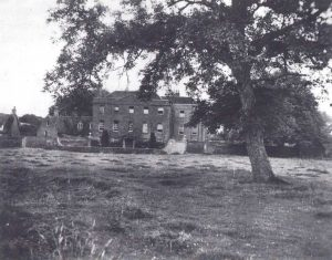 Ферма Халл, где были интернированы немецкие физики. 1945 г.