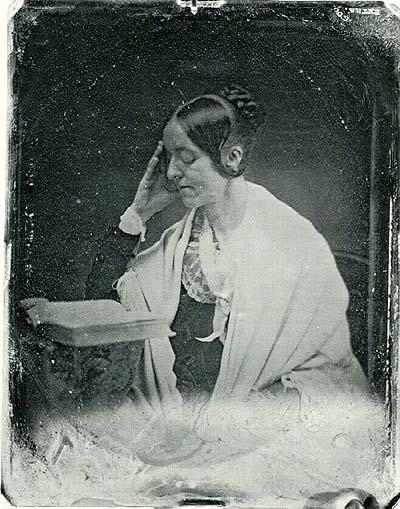 Рис. 6. Единственная сохранившаяся фотография Маргарет Фуллер, сделанная Альбертом Сэндсом Саутвортом5 в июле 1846 г., за месяц до её отъезда в Европу. Музей изящных искусств в Бостоне. Общественное достояние.