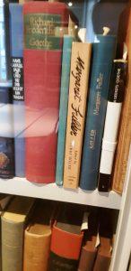 Рис. 10.2 Книги Маргарет Фуллер в библиотеке дома-музея Гёте.