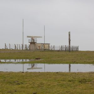 Радарный полигон (Radar Station at Saddle Head, Castlemartin range East, Dyfed.)