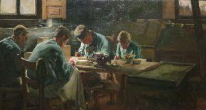 Rappard_Paintners 1883.jpg (Антон Ван Раппард. Художники. 1883 год)
