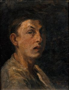 Rappard_Self portrait 1880.jpg (Антон ван Раппард. Автопортрет. 1880 год)