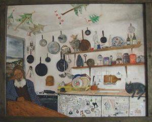 Акселева кухня. Работа Герасима Антарина. 2002