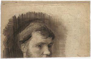 Van Gogh_Portrait of Rappard 1884.jpg (Часть портрета Антона Ван Раппарда. 1884 год)