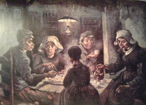 Van Gogh_ Potato eaters 1885.jpg (Винсент Ван Гог. Едоки картофеля. 1885 год)