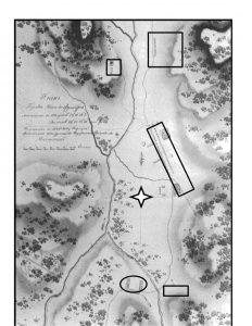 План г. Нова-Фрибурго. Н. Г. Рубцов (1822 г.)