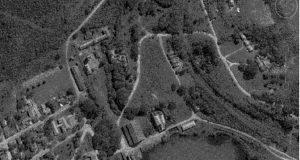 Аэрофотоснимок местности в районе бывшего металлургического завода в Сан-Жуан-де-Ипанема