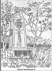 Знак Жауру. Рис. Э. Флоранса (1827 г.)