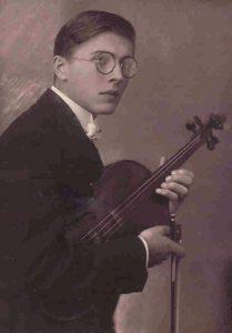 Вадим Борисовский, начало 1920-хгг.