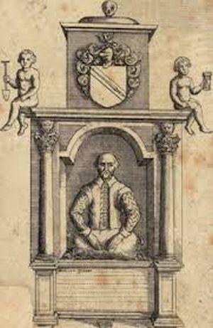 Первое надгробие Шекспира