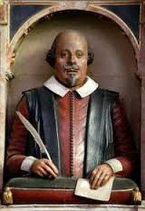 Второе надгробие Шекспира
