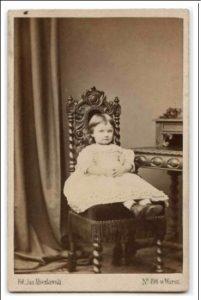 Ольга Александровна (1860–1934). Фотография из собрания коллекционера Яцека фон Денеля (Jacek von Dehnel)