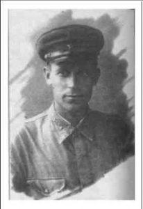 Б.И. Романенко (1912–2010), фото 1942 г. Ученик, сослуживец и однополчанин Ю.В. Кондратюка; человек, отстоявший его доброе имя
