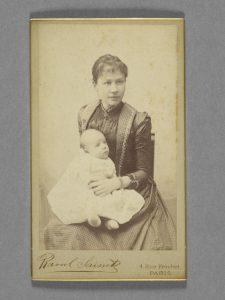 Johanna_with child_1890.jpg (Йоханна с ребёнком в 1890 году)