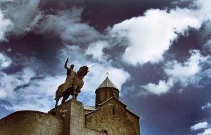 Вахтанг Горгасали на могучем коне