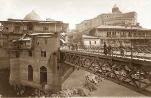 Метехский мост в давние времена